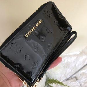Michael Kors Jet set large flat phone wallet